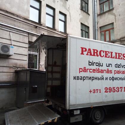 Biroja un dzīvokļa pārvakšanās - parcelies.lv