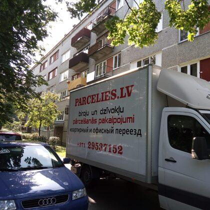 Dzīvokļa pārcelšanās - Pārcelšanās serviss parcelies.lv