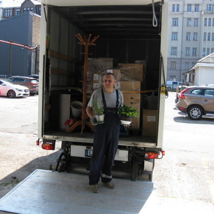 Movers Services, Furniture Transportation, Relocation - parcelies.lv